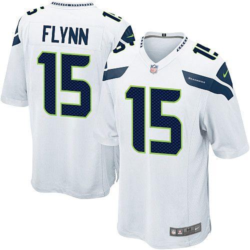 Men Nike Seattle Seahawks #15 Matt Flynn Limited White NFL Jersey Sale