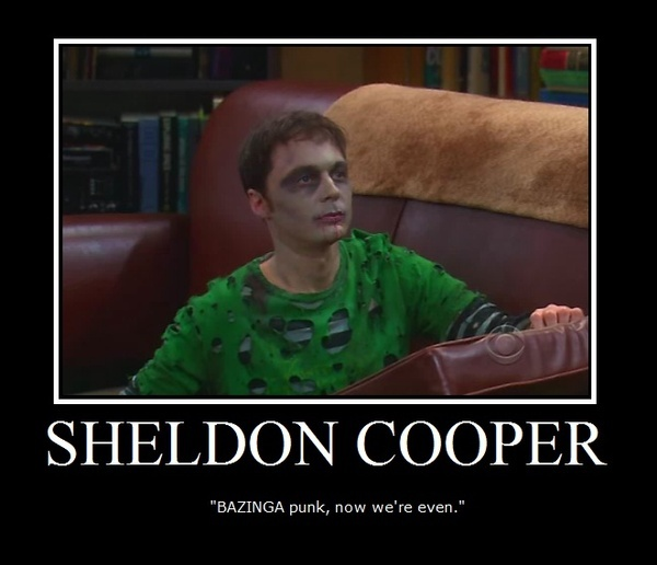 Sheldon Cooper :] - sheldon-cooper fan artBazingapunk, Sheldon Cooper, Laugh, Episode, Big Bang Theory, Big Bangs Theory, Funny, Big Bangs Fans Art Theory, Bazinga Punk