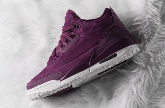 Buy The Air Jordan 3 Wmns Bordeaux Here Air Jordans Jordans
