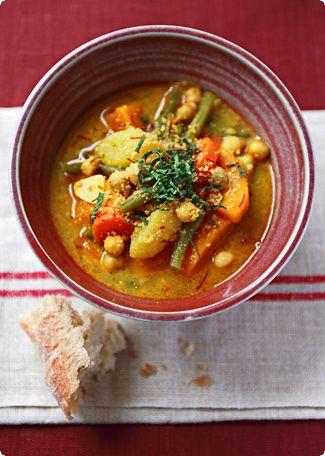 gypsy pot (vegetable stew).