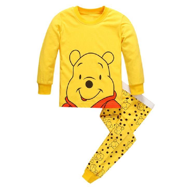 Childrens Character Pyjama Set 100% Cotton