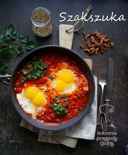 Kulinarne przygody Gatity: Szakszuka (shakshouka)