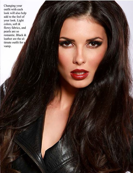 Viva Glam Magazine - How To Go In Just Seconds From Romantic To Vampy
