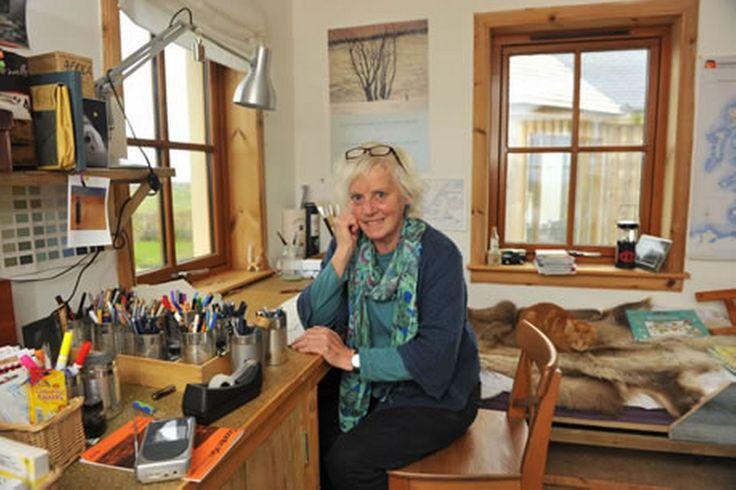 Mairi Hedderwick,vg on Desert Island Discs