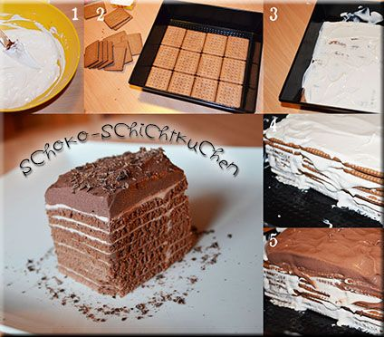 schoko-schichtkuchen