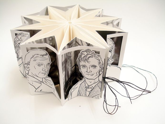 Molly Brooks carousel book is pretty inspiring. Doctor Who