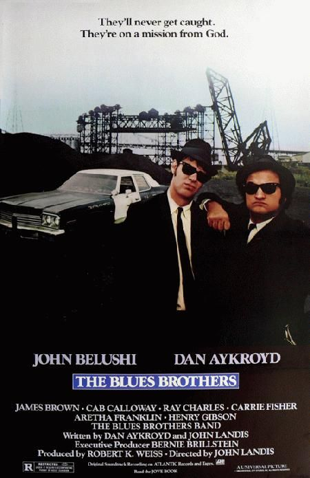 """""""It's 106 miles to Chicago, we got a full tank of gas, half a pack of cigarettes, it's dark... and we're wearing sunglasses.""""""""Hit it"""": Geek Stuff, Favourit Movies, Favorite Movies, Blue Brother, 106 Miles, Wear Sunglasses Hit, Favorite Film, Full Tanks, Blues Brothers"""
