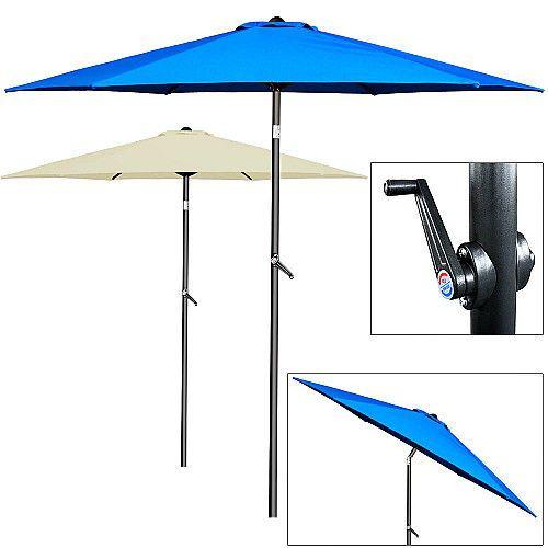 23 best garden parasol large patio umbrella wooden outdoor sun