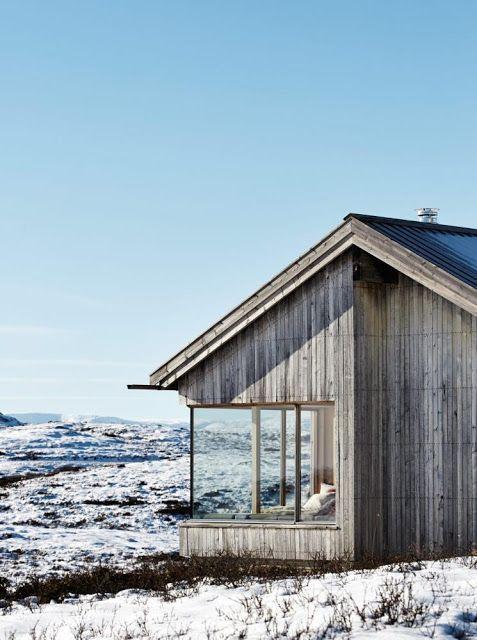 mountaincabin situated in Jotunheimen in Norway by architect Torbjørn Tryti @bingbangnyc