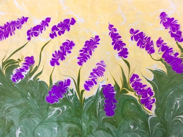 yakarış - Painting,  33x45 cm ©2010 Esengul Inalpulat tarafından -  Boyama