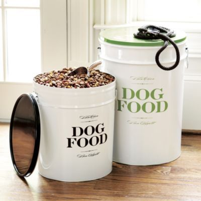 Bon Chien Food Canisters