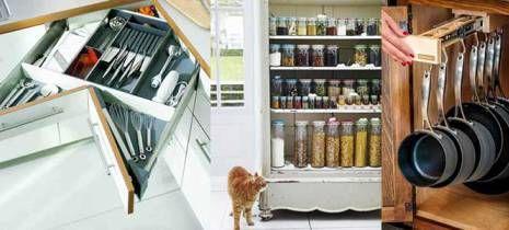Küçük Mutfaklar için 20 Yaratıcı Depolama Fikri