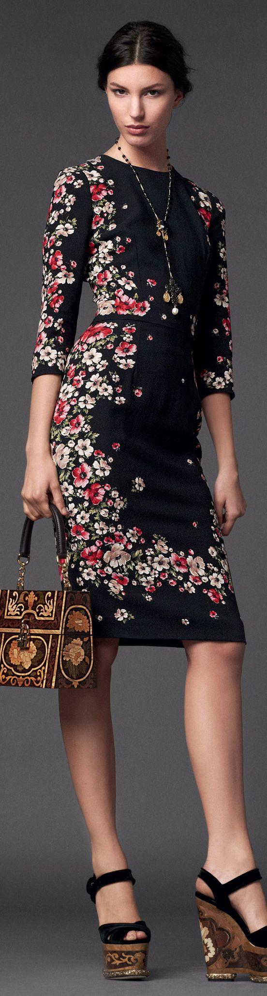 Dolce & Gabbana | Woman Collection W 2014  | The House of Beccaria Beautifuls.com Members VIP Fashion Club 40-80% Off Luxury Fashion Brands