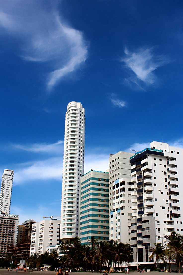 Cartagena, una tierra cálida con un ambiente de feria.