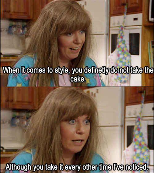 Take the cake - Kath And Kim