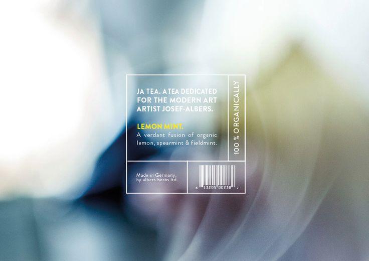 JA. - Tea Branding on Behance