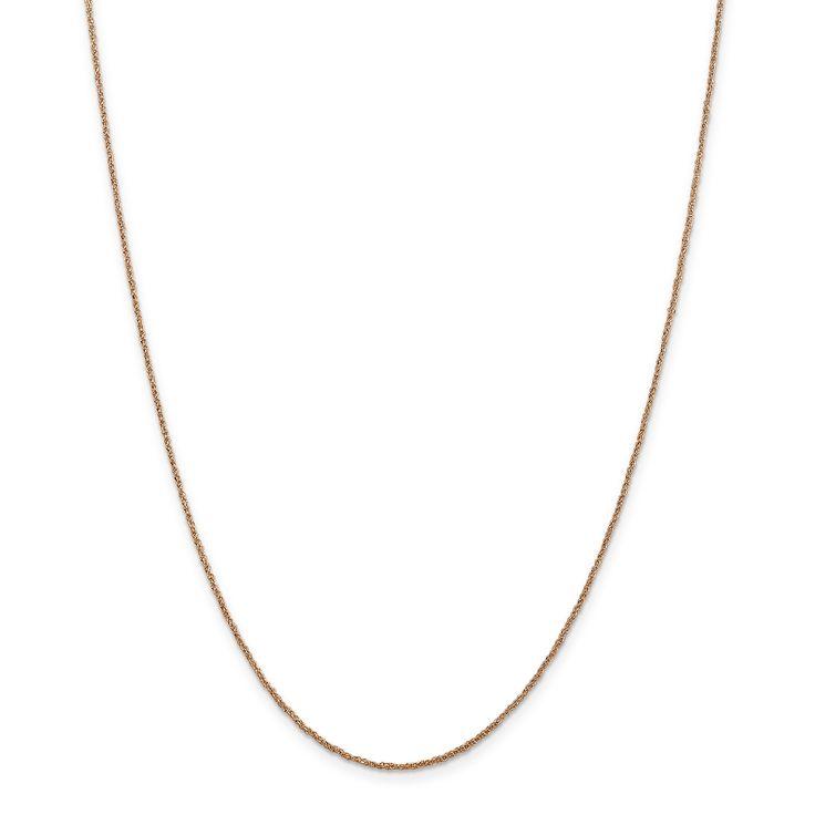 Versil 14k Gold 1.1mm Rope Chain, Women's