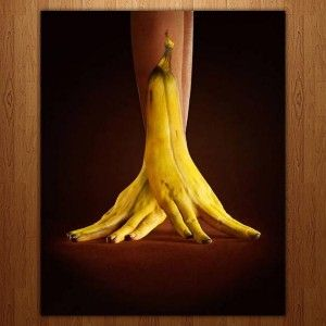 Banana - Amazing 3d Body Painting