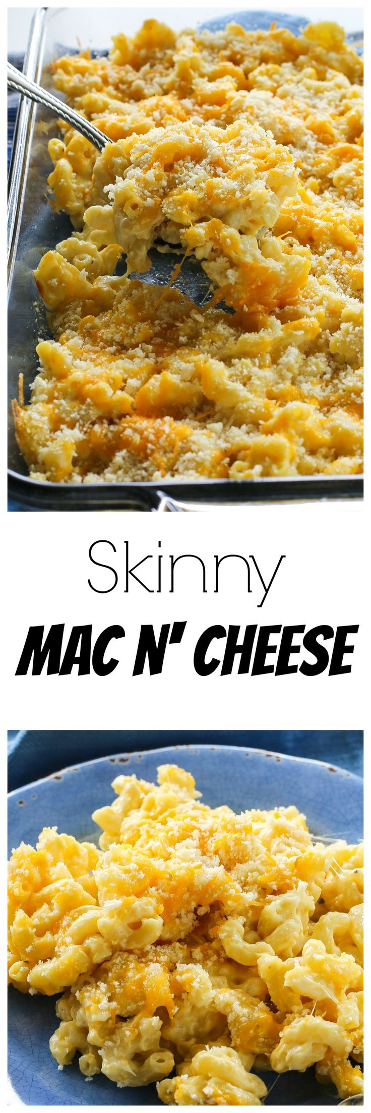 Skinny Mac N' Cheese - half the calories with all the creaminess. the-girl-who-ate-everything.com