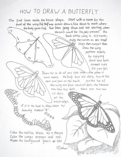 17 meilleures id es propos de comment dessiner un papillon sur pinterest drawing lesson - Comment dessiner un papillon ...