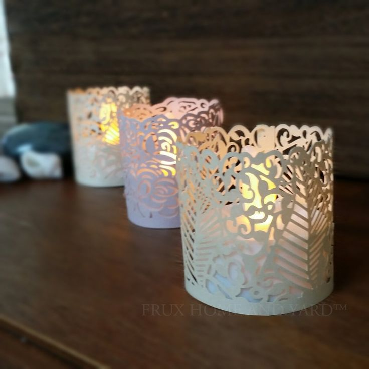 ONE DAY SALE - FLAMELESS TEA LIGHT SET 24 Flickering LED Battery Tealight Candles With FREE Votive Wraps© BONUS Included From Frux Home and Yard