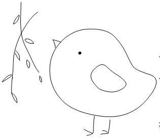 birdie template