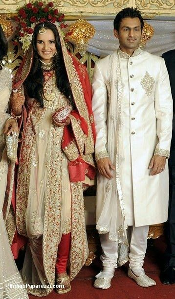 20 Best Sania Mirzas Wedding Images On Pinterest