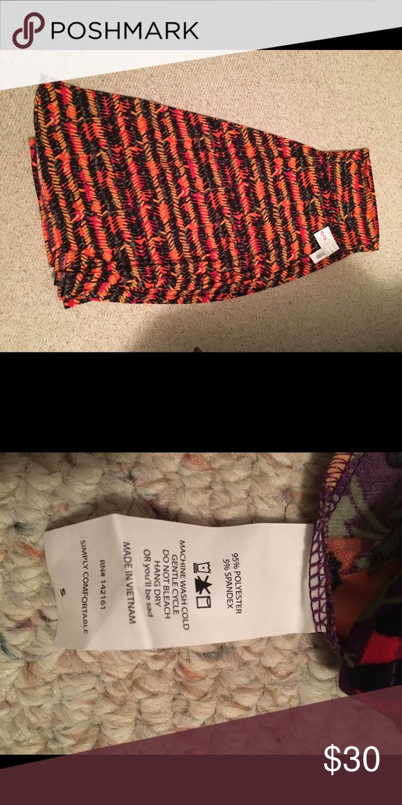Lularoe Maxi Size Small NWT Multicolored maxi by lularoe. Never been worn besides trying it on one time. Slinky material great for summer! Feel free to ask questions or make an offer. LuLaRoe Skirts Maxi