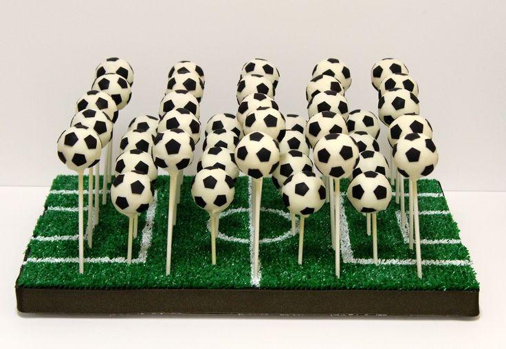Soccer Ball Cake Pops  on Cake Central