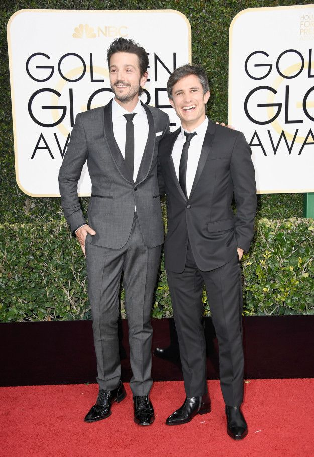 Star Wars actor Diego Luna showed at the 2017 Golden Globes on Sunday night with his lifelong best friend Gael Garcia Bernal — who was nominated for best comedy actor for his role in Mozart in the Jungle.