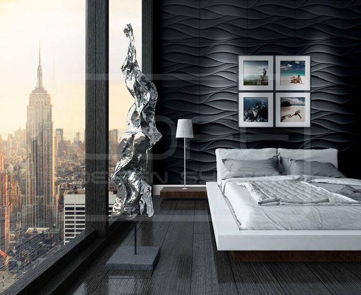 Sand Storm - model 21.  Click at the photo to get more information or to visit our website.  #LoftDesignSystem #loftsystem #Decorativepanels #Inspiration #Interior #Design #wallpanels #3Ddecorativepanels #3dpanels #3dwallpanels #house #home #homedesign #Decorations #homedecorations #meringue #bedroom #salon #livingroom