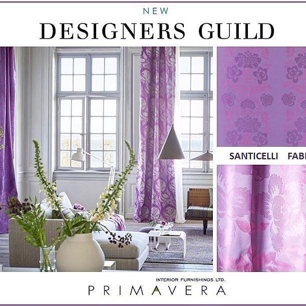 New Designers Guild Fabrics Collections...SANTICELLI! A classical fleur-de-lys…