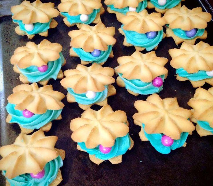 Clam cookies la sirenita
