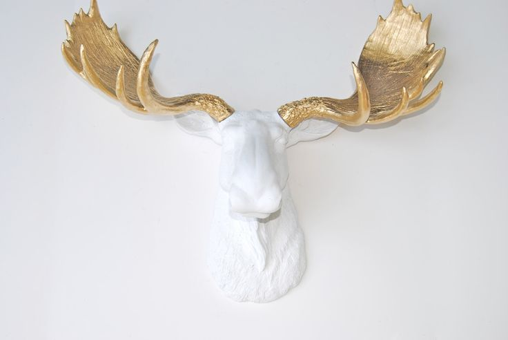 1000 ideas about faux taxidermy on pinterest animal heads unicorn head and fabrics - Fake moose head mount ...