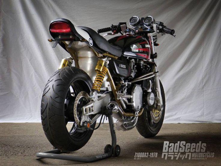 Racing Cafè: Kawasaki Z1000A2-1978 by BadSeeds Motorcycle Club