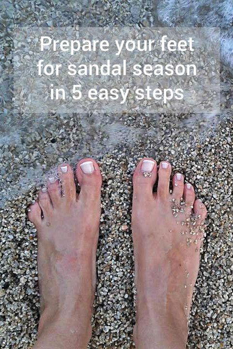 How to get your feet ready for the Summer........