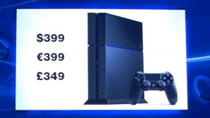 F7U12 Holy Crikey I thought it would be twice this for sure! PS4 Price Tag = $399 / $400 Dollars (Cheapest Next-Gen Console) E3 2013 Sony Press Conference