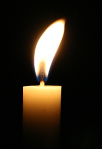 Image result for candle flame kristallnacht