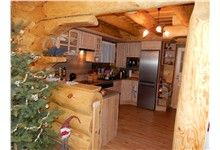 Log Homes Kitchen