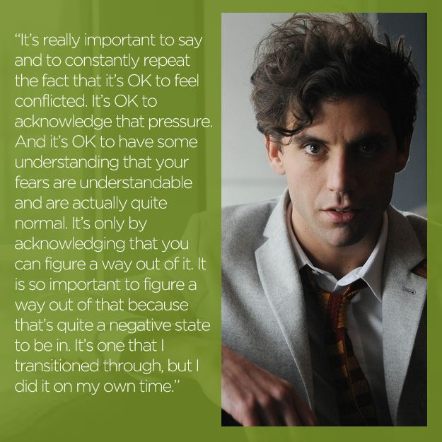 Mika | 16 Stars On What Coming Out Means To Them