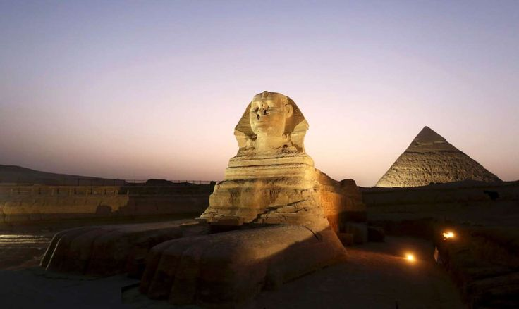 The Great Sphinx (Giza, Egypt) - MOHAMED ABD EL GHANY/Newscom/Reuters