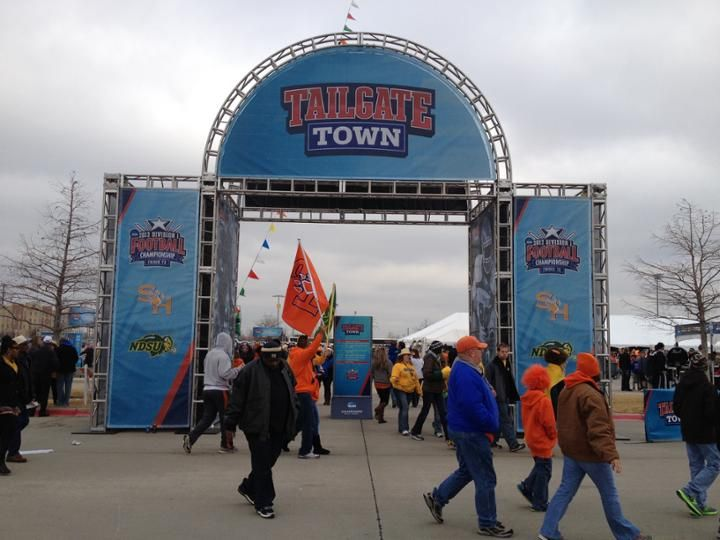 Tailgate Town at FCS Championship