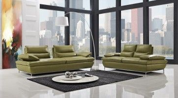 NAOMI - Leather Sofa Set | Creative Furniture