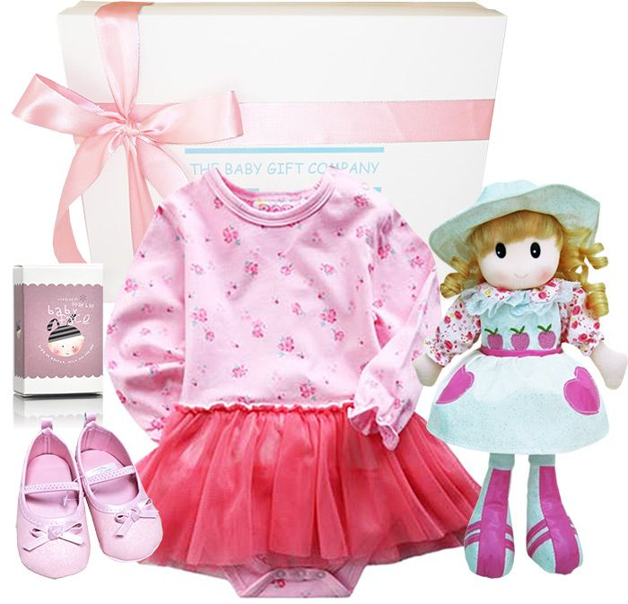 Tu Tu Beautiful Baby Gift Hamper perfectly fit for a beautiful new Little Ballerina or Princess.