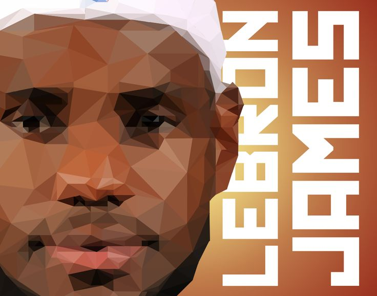 LeBron James, NBA poster, basketball poster, man cave