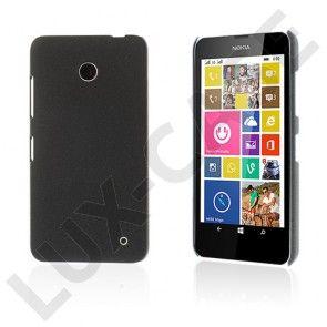 Grundsten (Svart) Nokia Lumia 630 / 635 Hårdskal