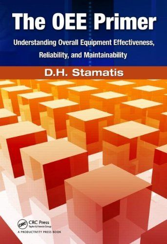 The OEE Primer: Understanding Overall Equipment Effectiveness, Reliability, and Maintainability by D.H. Stamatis. $53.95. Publisher: Productivity Press; 1 Pap/Cdr edition (June 14, 2010). Edition - 1 Pap/Cdr. Publication: June 14, 2010. Author: D.H. Stamatis