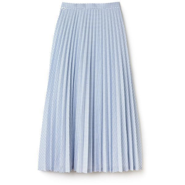 White Women's Check Print Long Pleated Skirt ($205) ❤ liked on Polyvore featuring skirts, bottoms, saias, white skirt, checkered skirt, checked skirt, long skirts and pleated maxi skirt