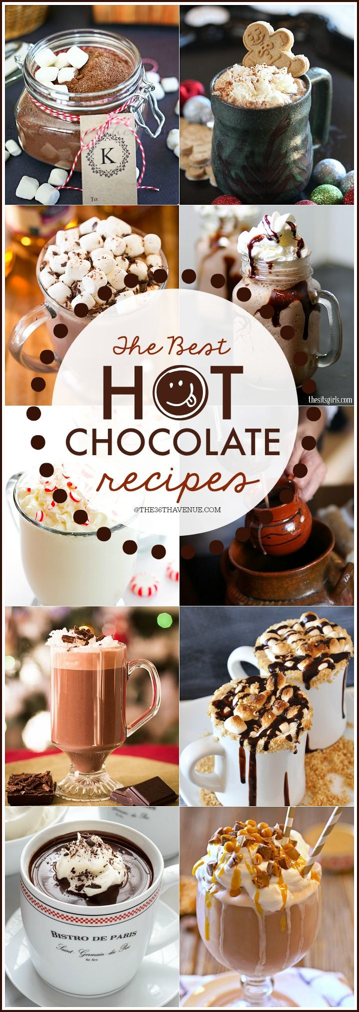 The Best Hot Chocolate Recipes EVER! PIN IT NOW and make them later!