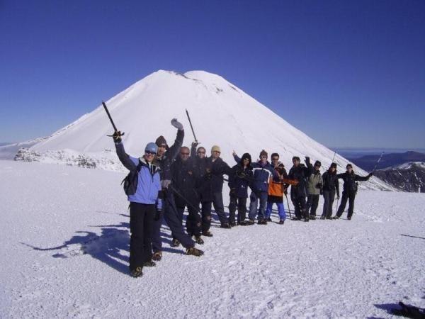 Tongariro winter alpine crossing » Adrift NZ